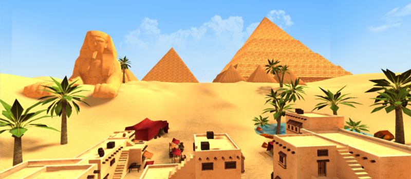 Egyptian Mysteries - Educational game GearVR