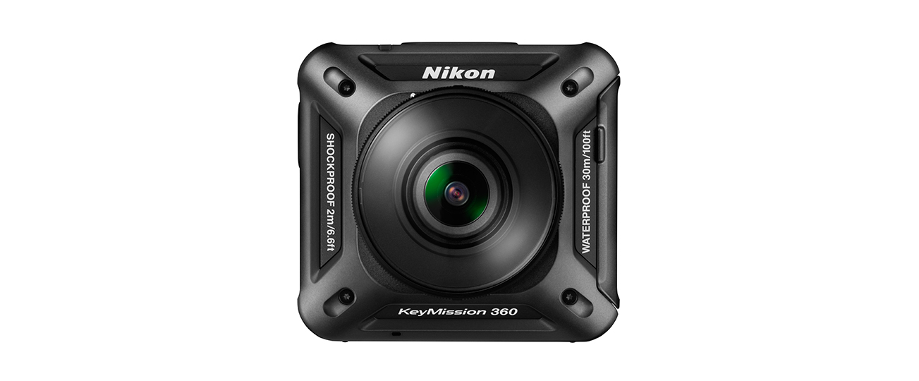 Nikon KeyMission 360 camera for Virtual Reality