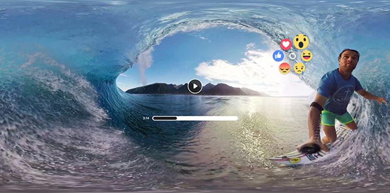 Facebook Social Integration In Oculus 360 videos