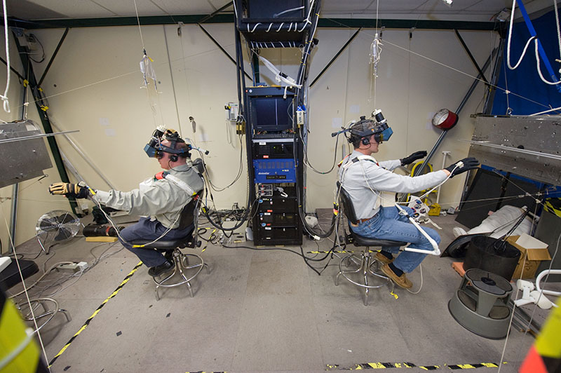 VR Lab - NASA - Astronauts training with virtual reality