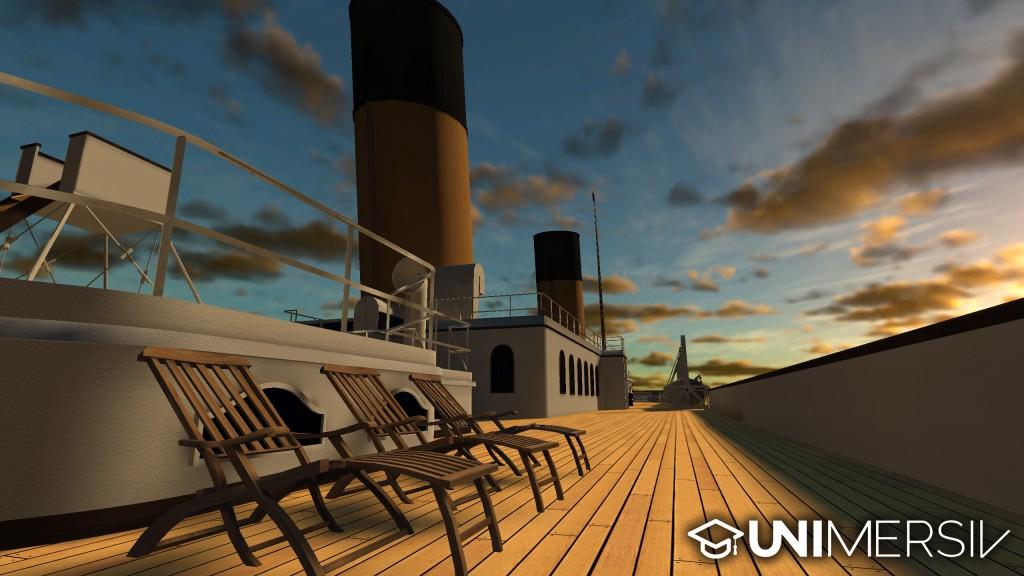 Titanic - Gear VR - First Class Promenade