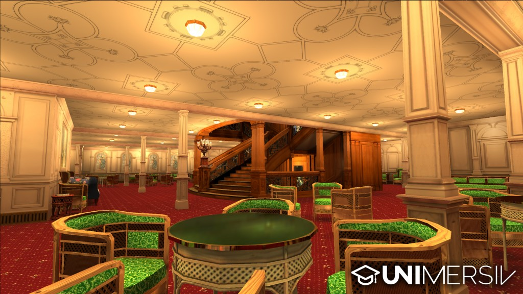 Titanic VR - The Reception Room