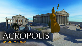 Acropolis of Athens - VR - Virtual Reality Education
