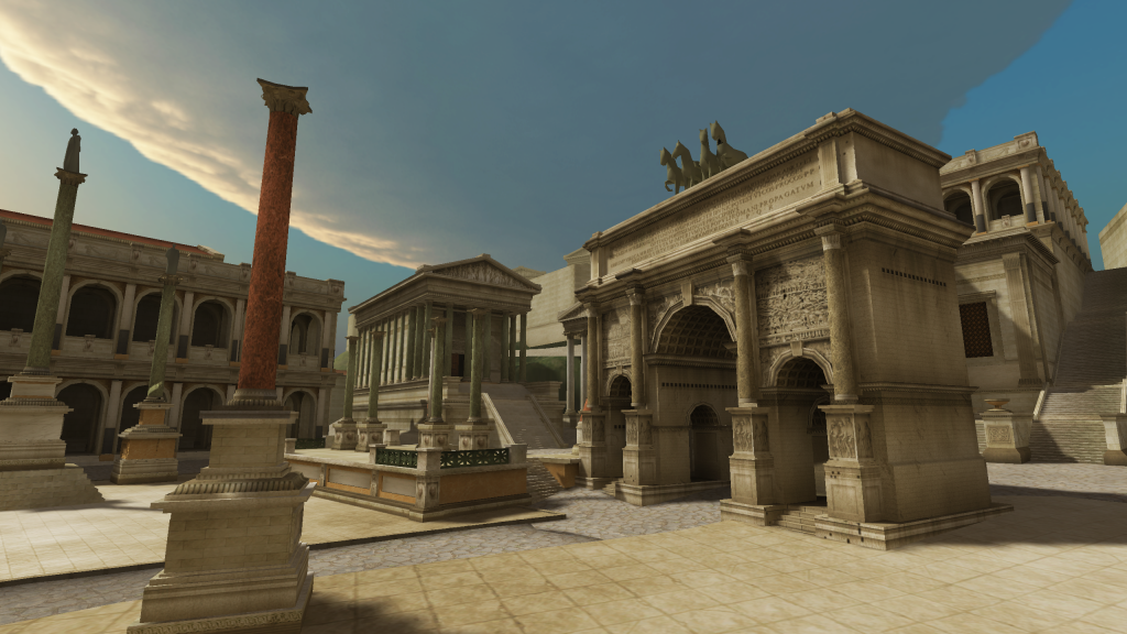 Ancient Rome VR - Virtual Reality - Unimersiv