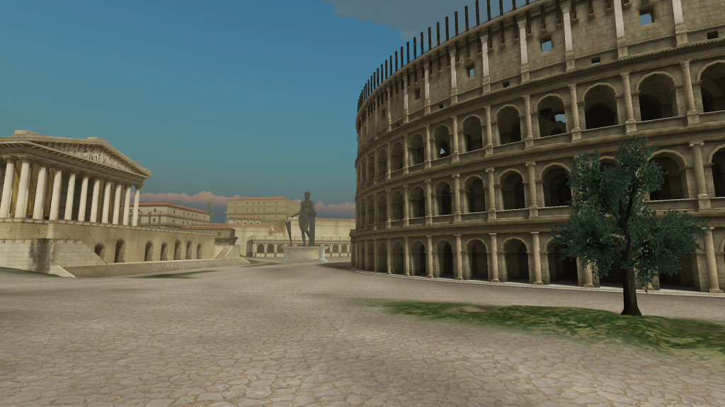 What would the colosseum have looked like