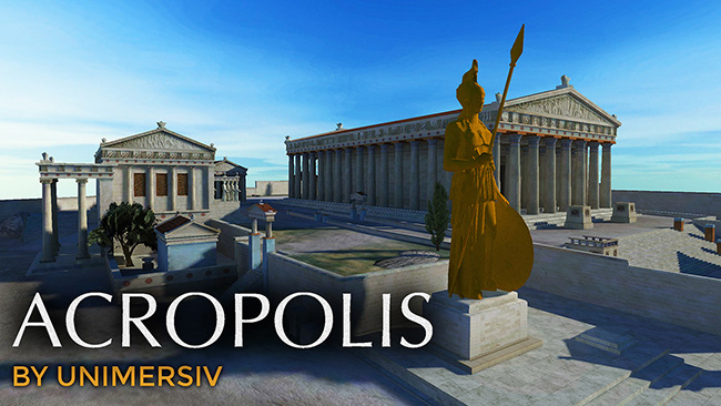 Acropolis of Athens VR - Virtual Reality