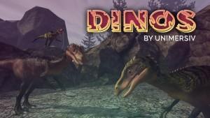 Dinosaur VR app